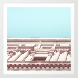 Melbourne City Architecture Art Print
