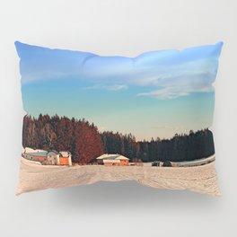 Amazing vivid winter wonderland   landscape photography Pillow Sham