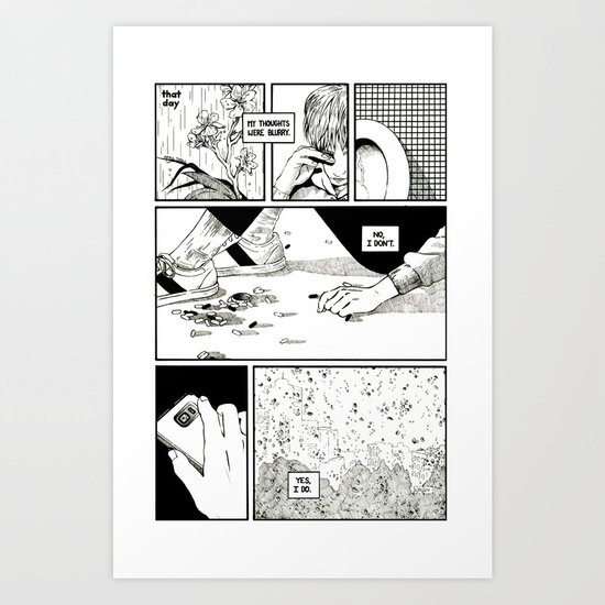 That Day Art Print