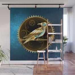 Mechanical Bird ( Steampunk ) Wall Mural