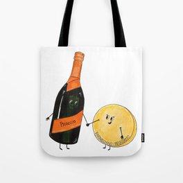 Prosecco Parmigiano Tote Bag