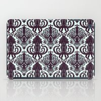victorian iPad Cases featuring Victorian Squid by Cryptovolans