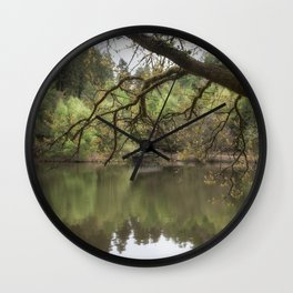Spring Reflections 2 Wall Clock