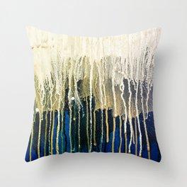 Irish Emerald Gold Throw Pillow