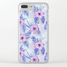 Honolua Light blue Clear iPhone Case