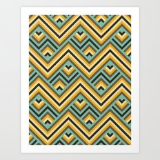 Safari GEO Art Print