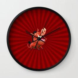 Pumbaa - The Warthog Wall Clock