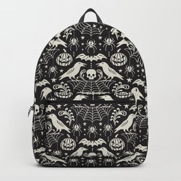 All Hallows' Eve - Black Ivory Halloween Backpack