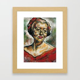 Finger Painting Framed Art Print