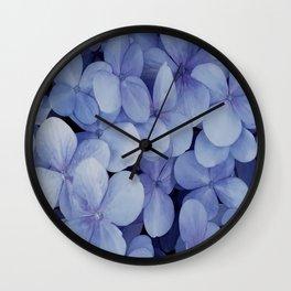Hydrangea Florets Wall Clock