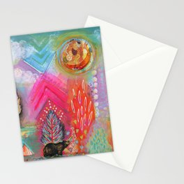 Bear Dreaming Stationery Cards