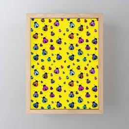 Ladybugs Blast Off Framed Mini Art Print