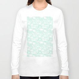 Delightful Domes - Mint Long Sleeve T-shirt