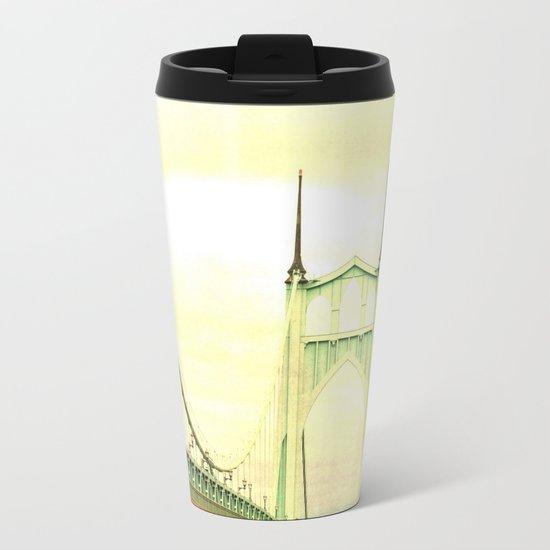 ST JOHNS BRIDGE Metal Travel Mug