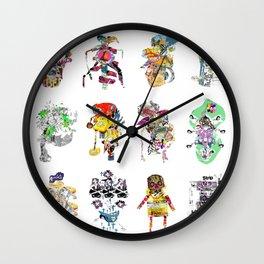CutOuts - Ensemble Wall Clock