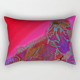 Hot Goanna Rectangular Pillow