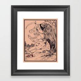 Et in Arcadia Ego Framed Art Print