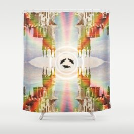 Noirs Corridors Shower Curtain