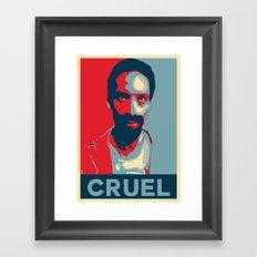 Cruel Cruelcruelcruel Framed Art Print