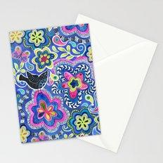 Indigo Garden Stationery Cards