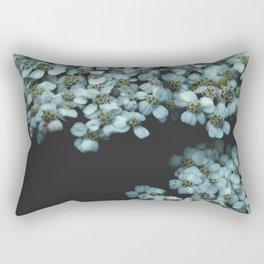 Botanical Still Life Photography Tiny Flowers Rectangular Pillow