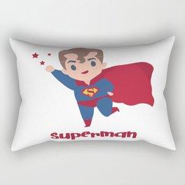 Cartoon Character Cute Superman Rectangular Pillow