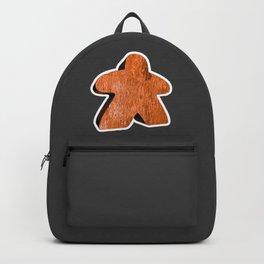 Giant Orange Meeple Backpack