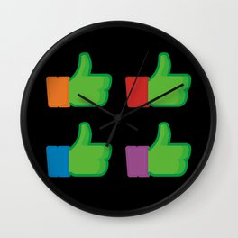 I Like TMNT Wall Clock