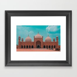 The Badshahi Mosque, Lahore, Pakistan Framed Art Print