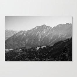 Bavarian Mountain View Canvas Print