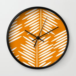 Leaves- minimal Wall Clock