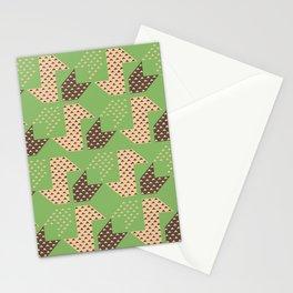 Clover&Nessie Pistachio/Mocha Stationery Cards