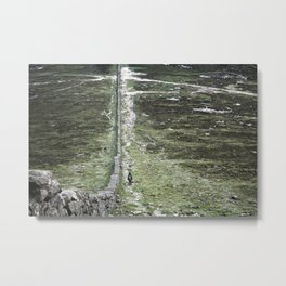 Atop the Mournes Metal Print