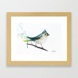 Change in The Air Framed Art Print