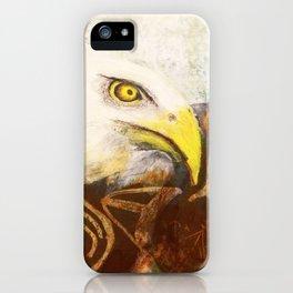 The eagle's spirit iPhone Case
