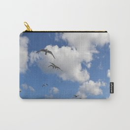 Flock of Seaguls Carry-All Pouch
