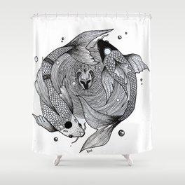 Piece's Shower Curtain