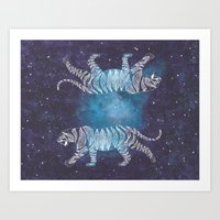 celestial Art Prints featuring Celestial by TomP