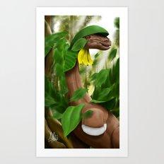 Leaf Storm! Art Print