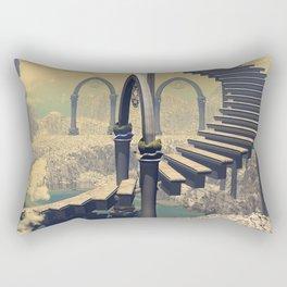 The treppe in the sky Rectangular Pillow