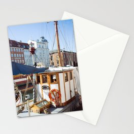 cruisin the copenagen canal Stationery Cards