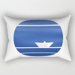 Origami-nimal Rectangular Pillow
