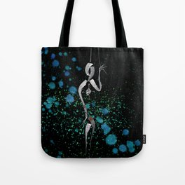 A Tarot of Ink Major Arcana XII The Hanged Man Tote Bag