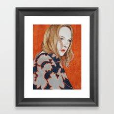 Close Up 19 Framed Art Print