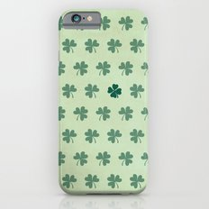 Lucky Clover Pattern Slim Case iPhone 6s
