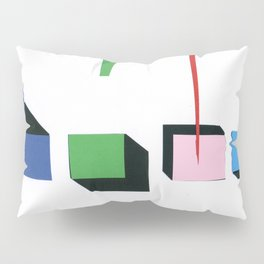 Squares in line Pillow Sham