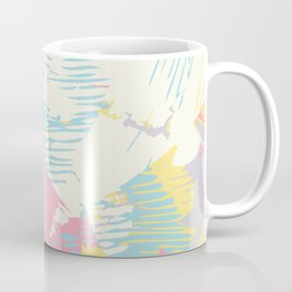 Futuristic Pastel Cityscape Coffee Mug