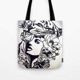 Strong Girl Tote Bag