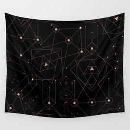 celestial pattern design Wall Tapestry