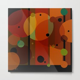 Technicolor (Pattern) Metal Print